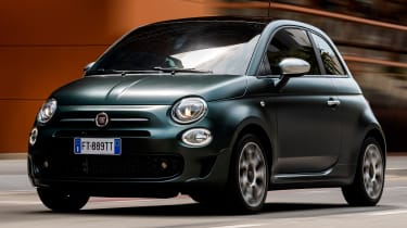 Fiat 500 Rockstar - front tracking