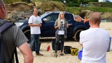 Beach Guardian volunteers group
