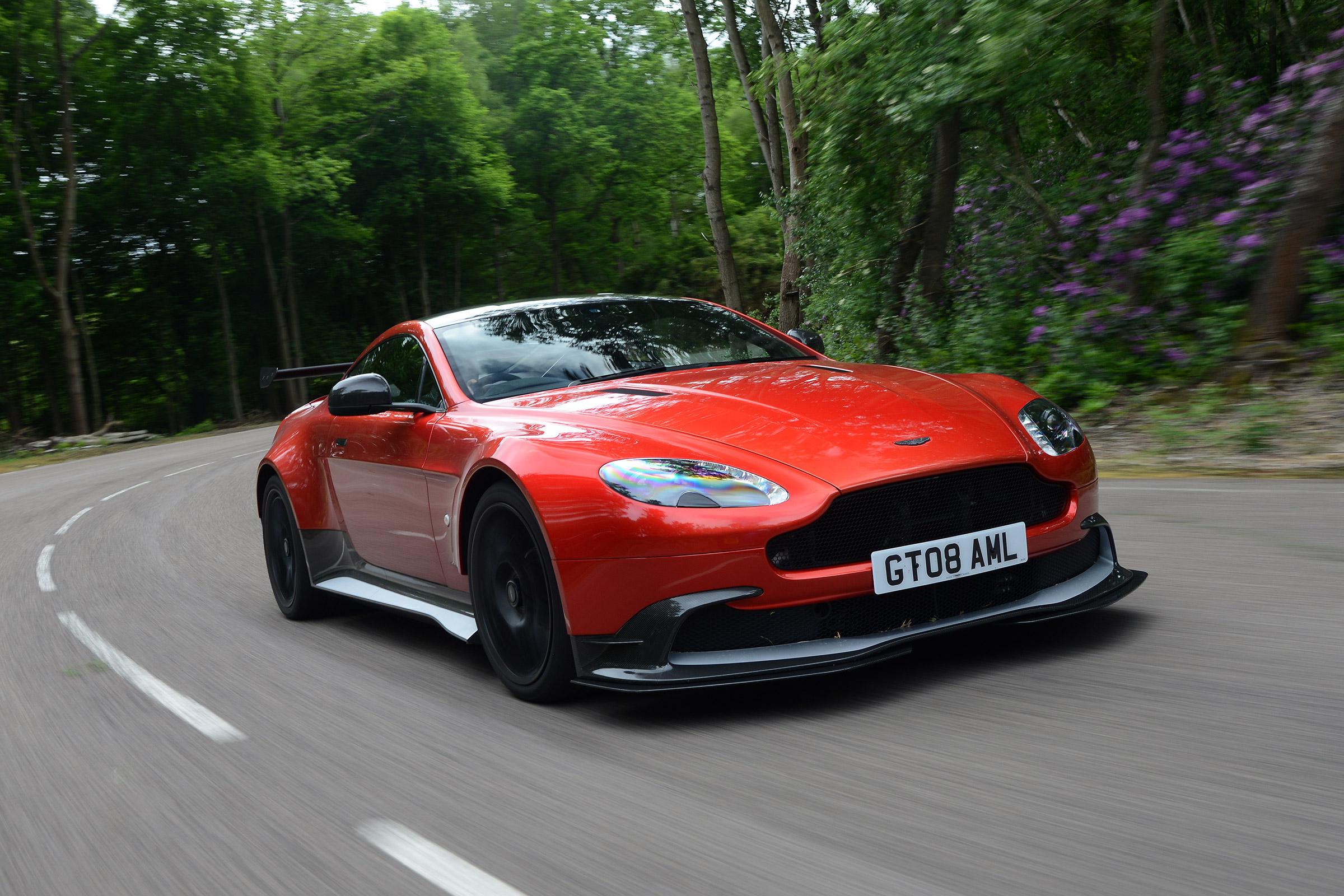 Aston Martin Vantage Gt8 2016 Review Auto Express