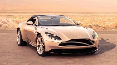 Aston Martin DB11 Volante - front static