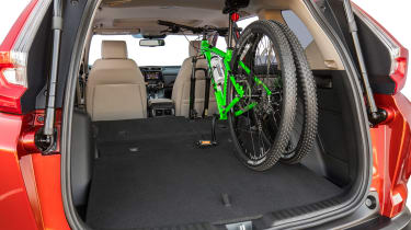 New Honda CR-V - boot and bike