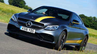Mercedes-AMG C 63 S Coupe Edition 1 - front cornering