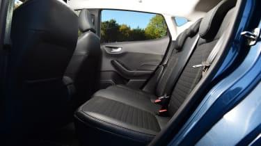 Ford Fiesta - rear seats