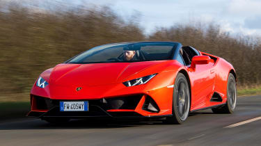 Lamborghini Huracan Evo Spyder - front