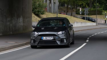 Ford Focus RS500 mule front