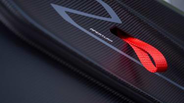 New Lamborghini Essenza SCV12 2021 review - handle