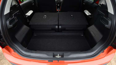 Suzuki Ignis 2016 - boot seats down