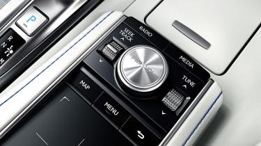 Lexus LC Convertible - infotainment controls