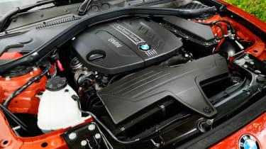 BMW 125d M Sport engine