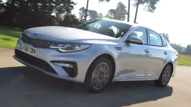 Kia Optima - front tracking
