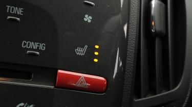 Vauxhall Ampera heated seats