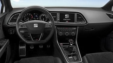 SEAT Leon Cupra 300 2017 - interior