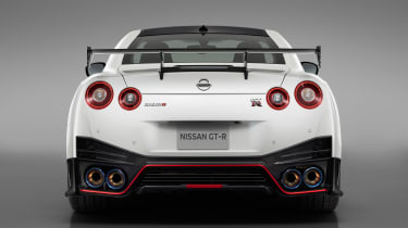 Nissan GT-R NISMO - studio full rear