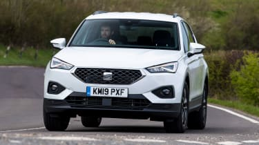 SEAT Tarraco - second report front cornering