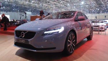 Geneva Motor Show 2016 - Volvo V40 front