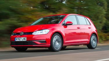 Volkswagen Golf - front