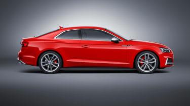 Audi S5 - side static