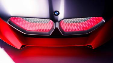 BMW Vision M NEXT concept - front detail