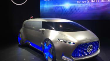 Mercedes Vision Tokyo concept car