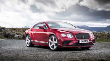 Bentley Contintental GT Speed 2015 static