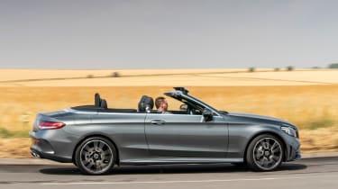 Mercedes C-Class Cabriolet - profile