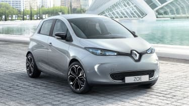 Renault ZOE S Edition - front