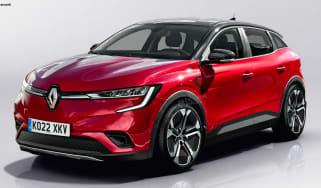 Renault Megane EV - front (watermarked)