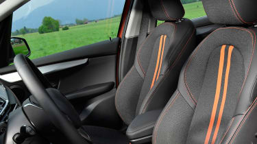 BMW 2 Series Active Tourer facelift - front seats