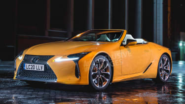 Lexus LC Convertible - front (watermarked)