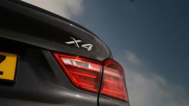 New BMW X4 2014 UK badge