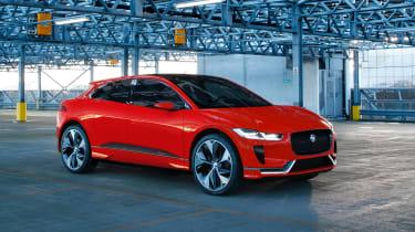 Jaguar i-PACE red