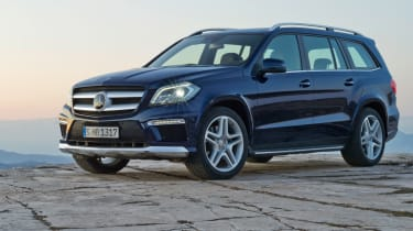 Mercedes GL front action