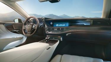 Lexus LS official interior