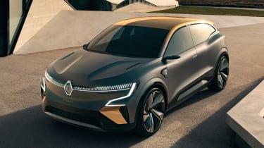 Renault Megane eVision - front above