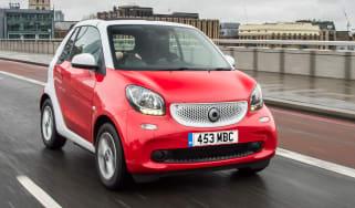 Smart ForTwo Cabrio - front