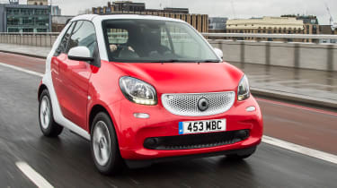 Smart ForTwo Cabrio - front
