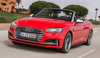 Audi S5 Cabriolet - front