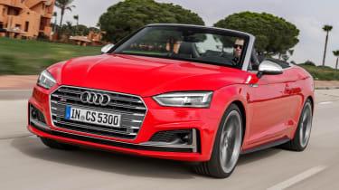Audi S5 Cabriolet - front