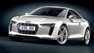 Audi TT front three-quarters