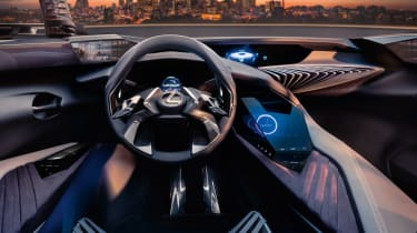 Lexus UX - Paris interior