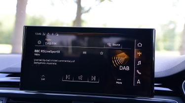 Audi A4 - screen