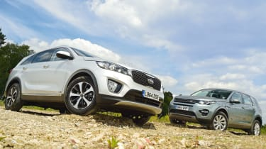 Kia Sorento vs Land Rover Discovery Sport