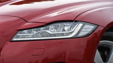 Long-term test review: Jaguar XF - first report headlight