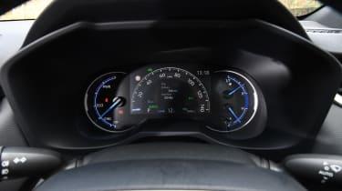 Toyota RAV4 - instrument binnacle