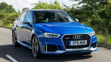 Used Audi RS 3 - front action