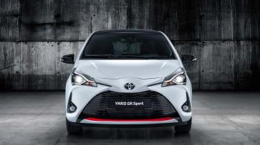 Toyota Yaris GR Sport revealed head on