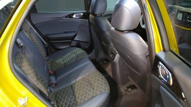 Kia XCeed - rear seats
