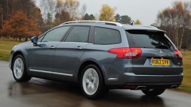 Citroen C5 Tourer rear tracking