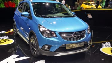 Opel Karl Rocks -Paris front three quarter