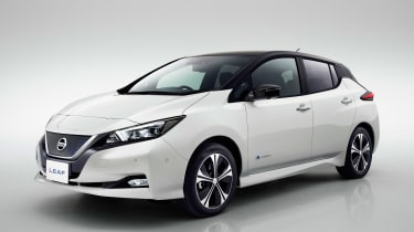 New Nissan Leaf - front